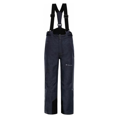 ALPINE PRO NEXO 3 Dětské lyžařské kalhoty KPAP175602 mood indigo