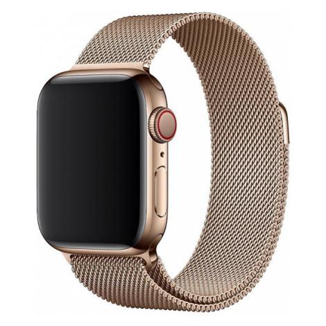 Apple Apple Watch řemínek - milánský tah 40 mm stříbrný