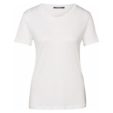 BRUUNS BAZAAR Tričko bílá