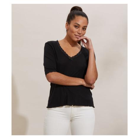 Tričko Odd Molly Gladys Top - Černá