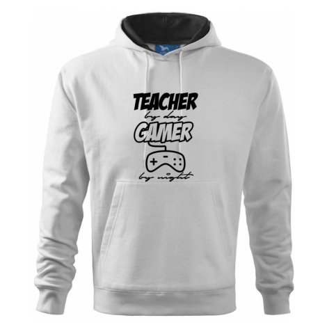 Teacher by Day Gamer by Night - Mikina s kapucí hooded sweater