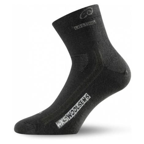 Ponožky Lasting WKS 70% Merino - černé