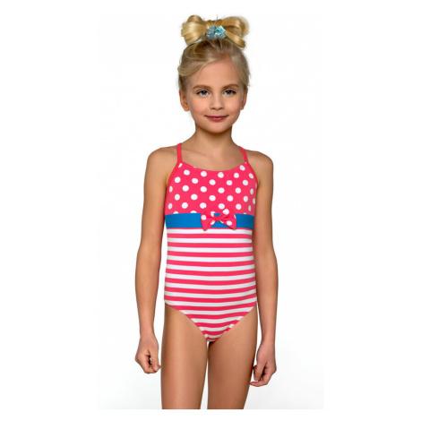 Plavky dívčí jednodílné Barborka Lorin