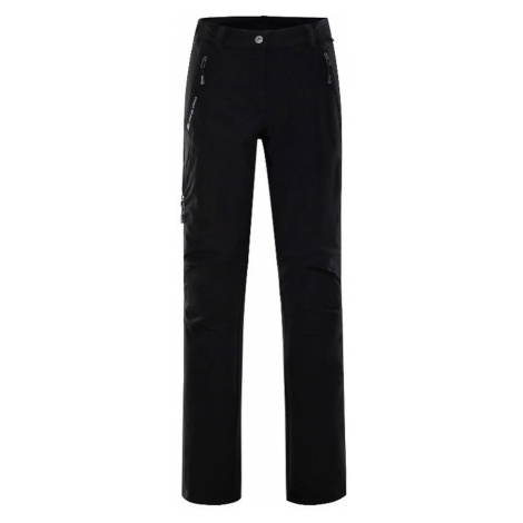 ALPINE PRO MURIA 2 Dámské softshellové kalhoty LPAL132990 černá