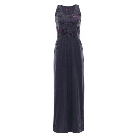 ALPINE PRO MESKIA Dámské šaty dlouhé LSKN170602 mood indigo