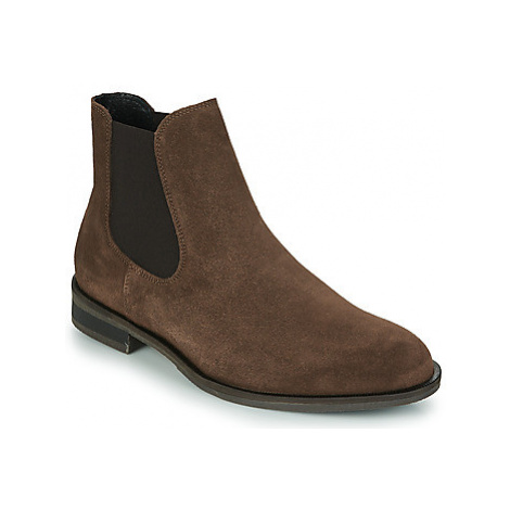 Selected LOUIS SUEDE CHELSEA BOOT Hnědá
