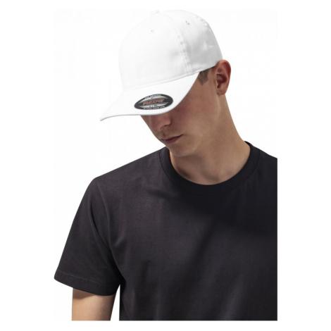 Flexfit Garment Washed Cotton Dad Hat - white Urban Classics