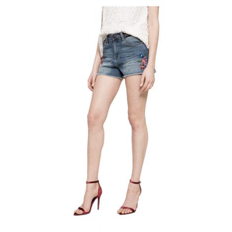 Modré džínové šortky - DESIGUAL