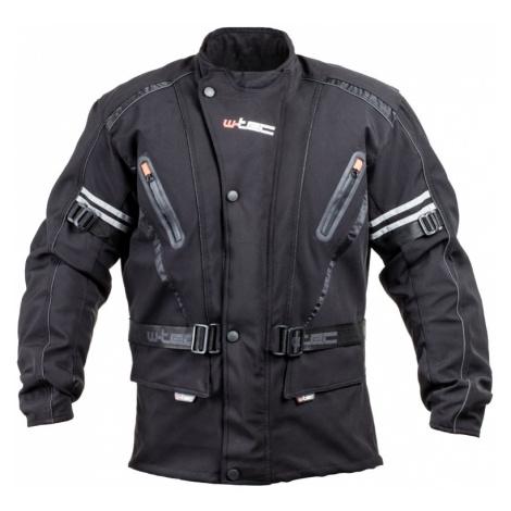 Pánská Softshellová Moto Bunda W-Tec Rokosh Gs-1758 Černá