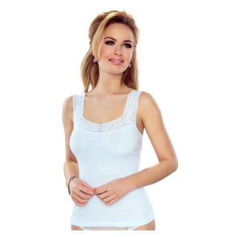 Dámská spodní košilka Arietta bílá