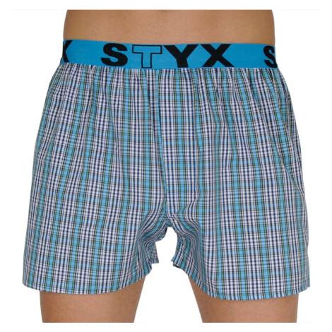 Pánské trenky Styx sportovní guma vícebarevné (B112)