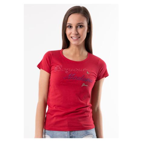 Dámské tričko Guess O92I00 Červená