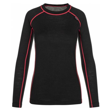 KILPI Dámské funkční merino triko PATTON-W NL0042KIBLK Černá