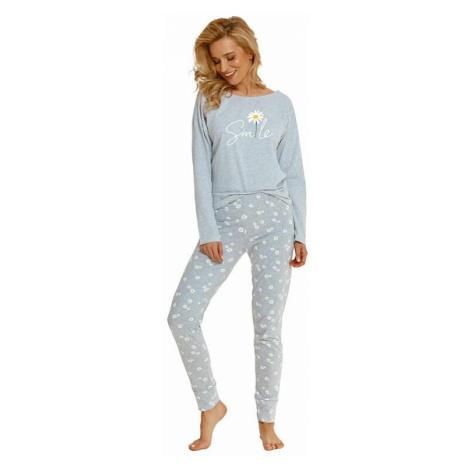 Dámské pyžamo Nicole světle šedé Taro