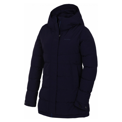 Husky Nilit L, tm. modrofialová Dámský hardshell plněný kabátek