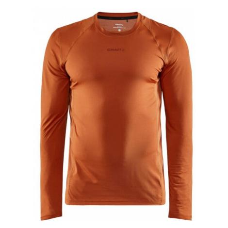 Pánské tričko CRAFT ADV Essence LS oranžová