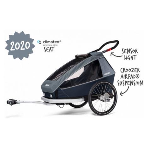 Dětský sportovní vozík Croozer Kid for 1 Plus Vaaya graphite blue