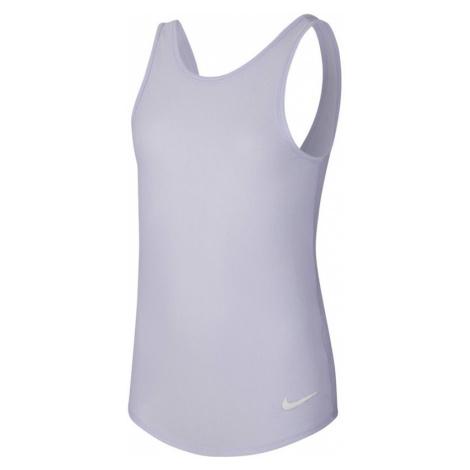 Dívčí tílko Nike Studio Soft Tank světle fialové,