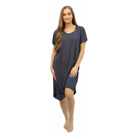 Dámská noční košile Cocoon Secret nadrozměr černá (COC4043-KG)