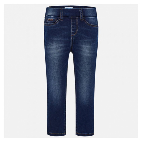 Dívčí kalhoty Mayoral - džegíny 577   modrá