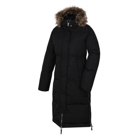 Husky Downbag L, černá Dámský péřový kabát