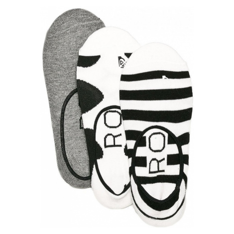 Ponožky Roxy Liner 3P anthracite