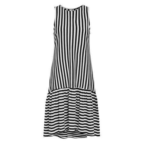 ONLY Šaty 'Fiona' bílá / černá