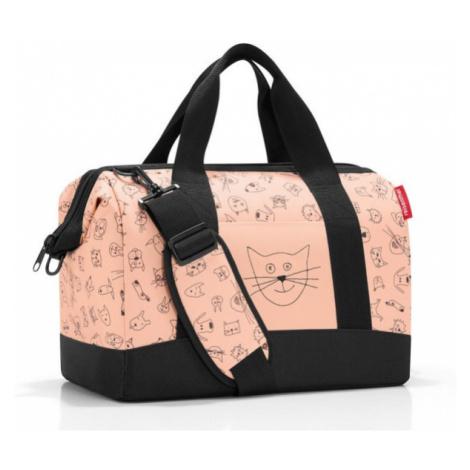 Cestovní taška Reisenthel Allrounder M kids Cats and dogs rose