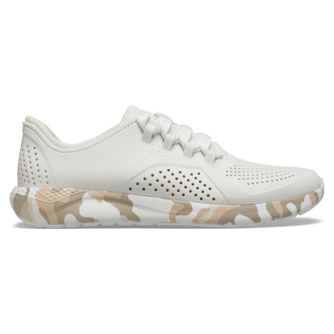 Crocs Women's LiteRide™ Printed Camo Pacer Almost white