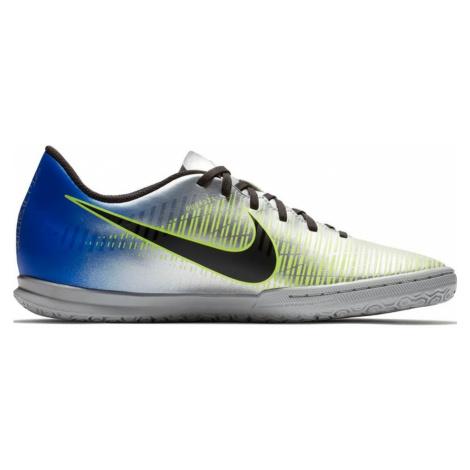 Dětské sálovky Nike MercurialX Vortex III Neymar IC Stříbrná