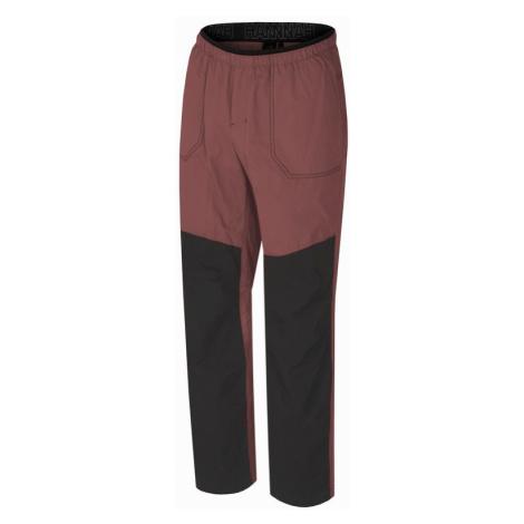 Pánské kalhoty Hannah Blog marsala/anthracite