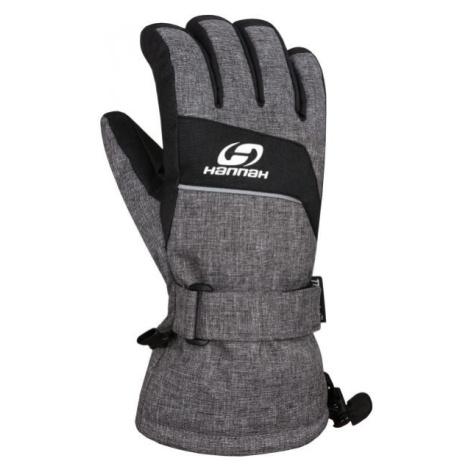 Hannah RAFFY šedá - Pánské lyžařské rukavice