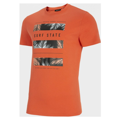 Pánské tričko Outhorn TSM616 Łososové