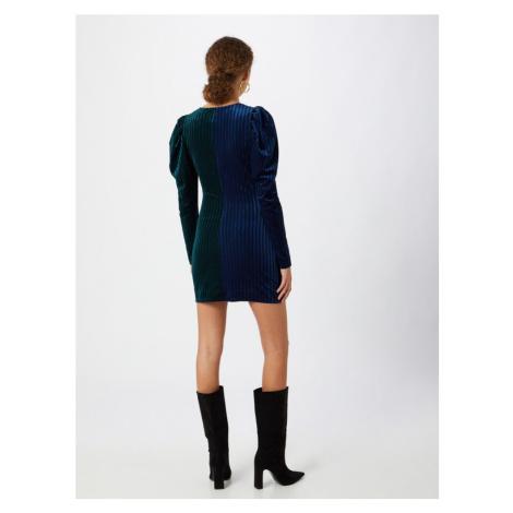 Pepe Jeans Šaty 'THERESE' zelená / modrá / černá