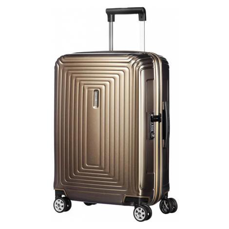 Samsonite Kabinový cestovní kufr Neopulse Spinner 44D 44 l - zlatá