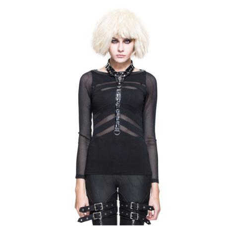 tričko dámské s dlouhým rukávem DEVIL FASHION - TT056