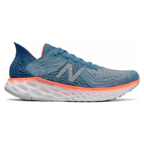 Běžecká obuv New Balance M1080H10 Modrá / Oranžová