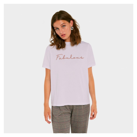 Světle fialové tričko Fabulous Pieces