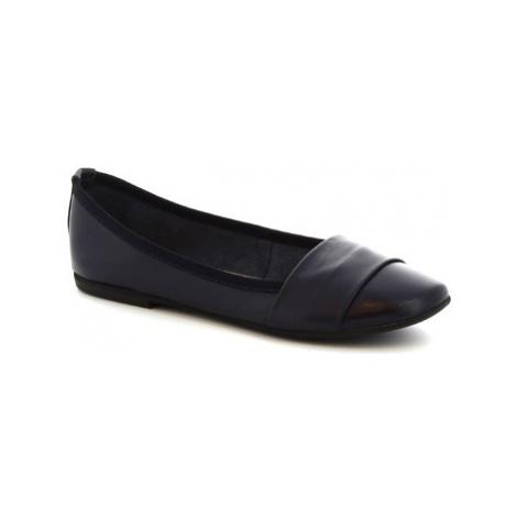 Leonardo Shoes 571-17/MICRO NAPPA BLU Modrá
