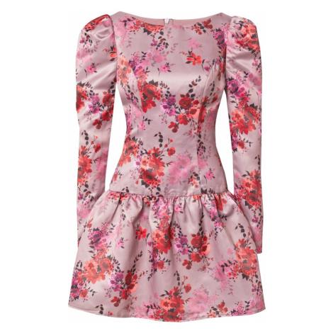Chi Chi London Šaty 'Ana' pink / mix barev