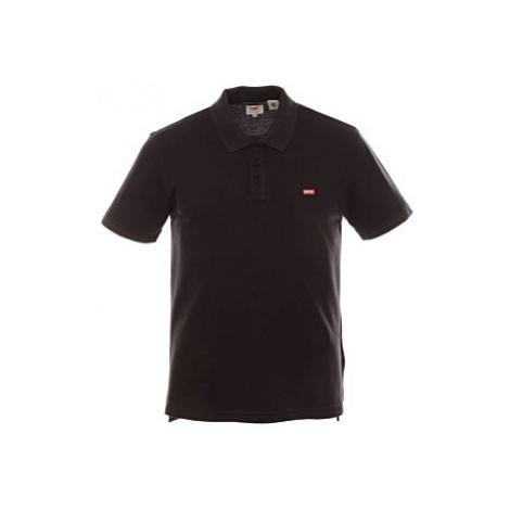 Pánské polo triko Levi´s® Housemark černé