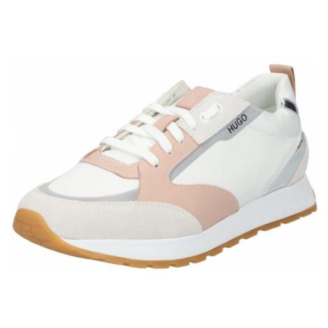 HUGO Tenisky 'Icelin' bílá / šeříková / růžová Hugo Boss