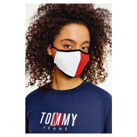Tommy Hilfiger Tommy Jeans rouška dámská- bílá/červená