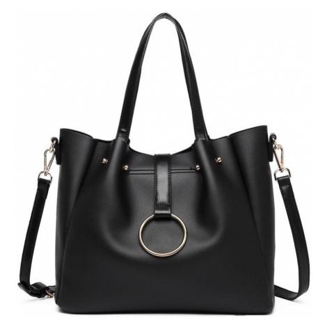 Černá kabelka 2-IN-1 Soft