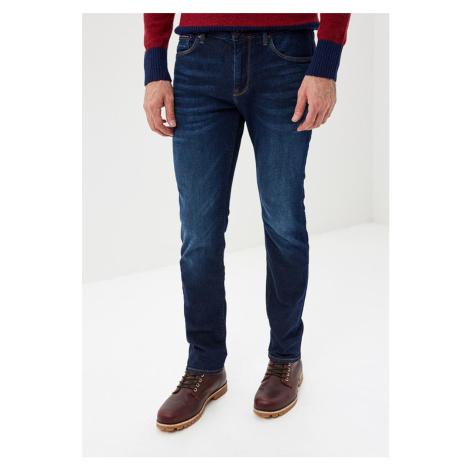 Tommy Hilfiger pánské tmavě modré džíny Miles