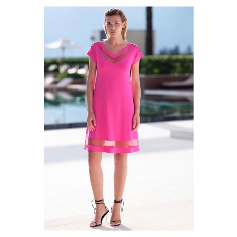 Dámské šaty LISCA 49385 Porto Montenegro | růžová