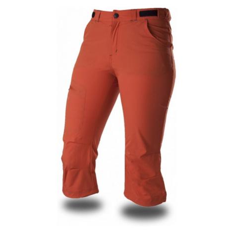 Dámské 3/4 sportovní kalhoty TRIMM Amber Lady dark orange