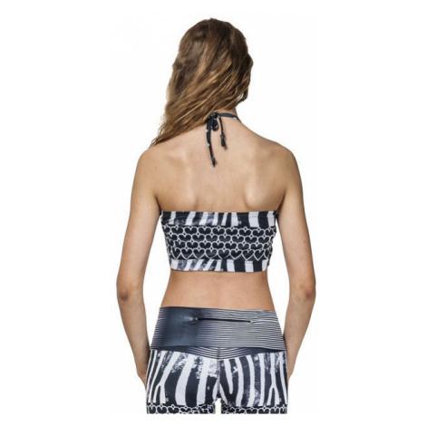 Podprsenka Horsefeathers Athletic Bandeau zebra