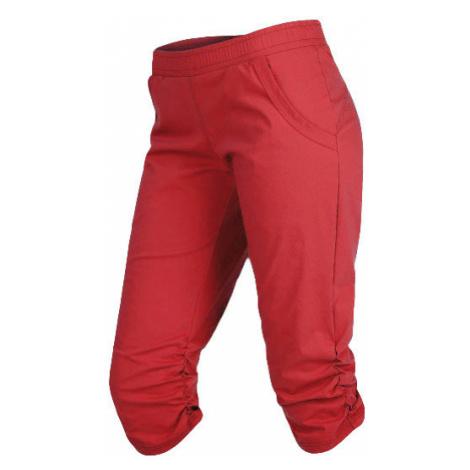 LITEX Kalhoty dámské bokové v 3/4 délce. 99563312 korálově červená