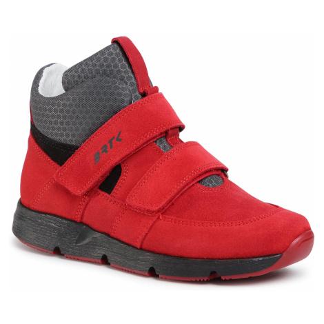 Kotníková obuv BARTEK - 67018/REB Červená